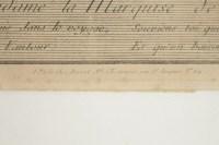 """Gravure Romantique, XIXème Siècle, """"Le Départ du Courrier"""""""