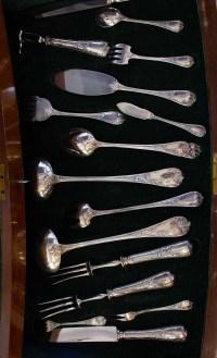 """Christofle - Ménagère métal 135 p. """"Marly"""""""