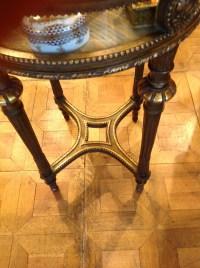 Table vitrine Napoleon III