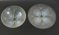 "René LALIQUE (1860-1945 ) Coupe ""Coquille n° 1"""