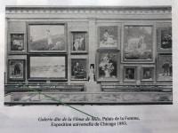Julie Buchet , Galerie dite de la Vénus de Milo, au Musée du Louvre
