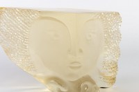 Sculpture en verre de baccarat par Gilles CHABRIER