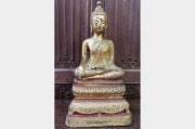 Bouddha en bronze doré Ratanakosin début XIXème siècle