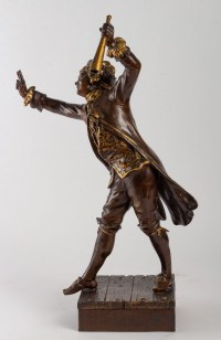 Sculpture en Régule, XIXème siècle