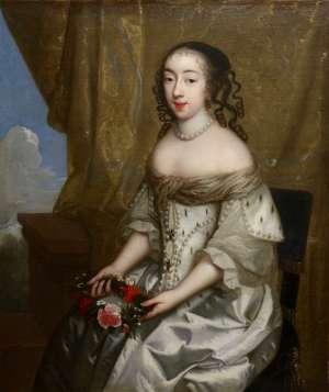 Portrait d'une princesse royale datant du XVIIème siècle