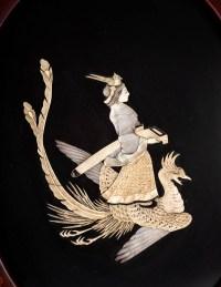 Paire de médaillons japonais, Epoque Meiji