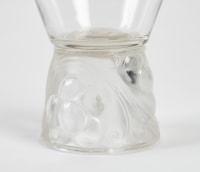 """René Lalique 11 gobelets  """"Marienthal"""""""