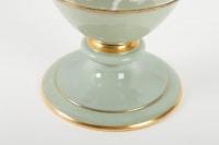 Rare vase en porcelaine de Sèvres, en pâte caméléon, céramique XIXème