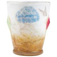 """Daum  : Vase """"Hydrangeas """" Cabochons"""