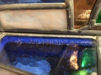 PLAFONNIER signé DUCHEMIN