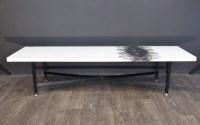 Table basse modèle plume de Terence Conran 1960