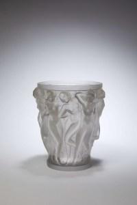 Lalique France : Vase Bacchantes Cristal