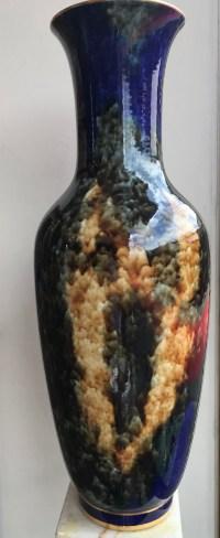 Vase de Sèvres, année 80. Réf: 362.