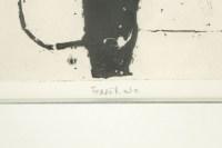 Gravure Lithograph signed Ferrer
