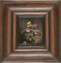 Nature morte aux fleurs vers 1800 – Suiveur d'Ambrosius II Bosschaert