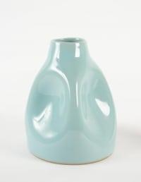 Hayashi Hideyuki - 2 vase en grès à couverte céladon, vers 1970