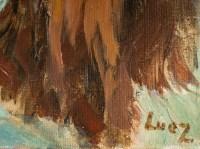 Femme Nue Allongée de Dos, XXème siècle