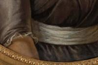 Portrait d'une jeune femme au ruban de soie, vers 1790.
