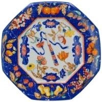"""Hermès, 12 Plates, """"marquetry"""" of Pierres d'Orient Et d'Occident"""