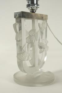 """René Lalique (1860-1945) lampe """"roitelet"""""""