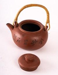 Théière, terre cuite, Art d'Asie, XXème siècle