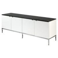Knoll - meuble de rangement, marbre noir, xxème