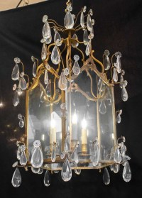 Lantern Transition Louis XV-louis XVI, 3 Lights