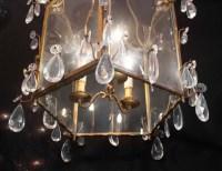 Lanterne Transition d'époque Louis XV-louis XVI, 3 Lumières