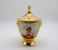 Sucrier En Porcelaine Paris-limoges - XIXème Siècle