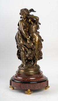 Statut bronze signée MOREAU XIXème