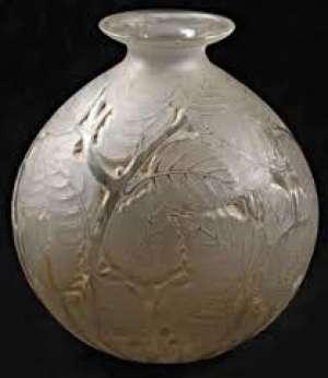 René LALIQUE Vase « Milan »