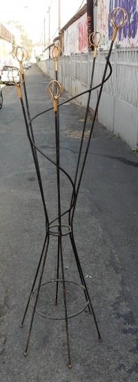 1950' Porte-Manteaux Hélicoïdal Geo Astrolabe de Roger Feraud