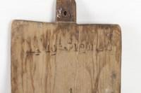 Plateau en bois pour apprendre le Coran 19e siècle