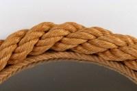 Miroir Audoux-Minet en corde 1950