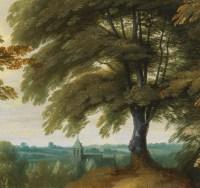 La Halte à l'orée du bois – Attribué à Alexander Keirincx (1600 – 1652)