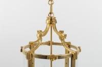 A Pair of Louis XVI style lanterns.