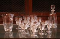 Cristal de Sèvres - Service 65 pièces signé
