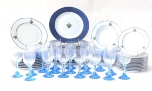 "CARTIER"" Maison venitienne "" Service de table Porcelaine"