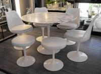 Knoll et Eero Saarinen Table Ronde marbre