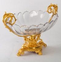 Coupe en cristal Baccarat, XIXème