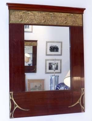 Paire de miroirs Art nouveau