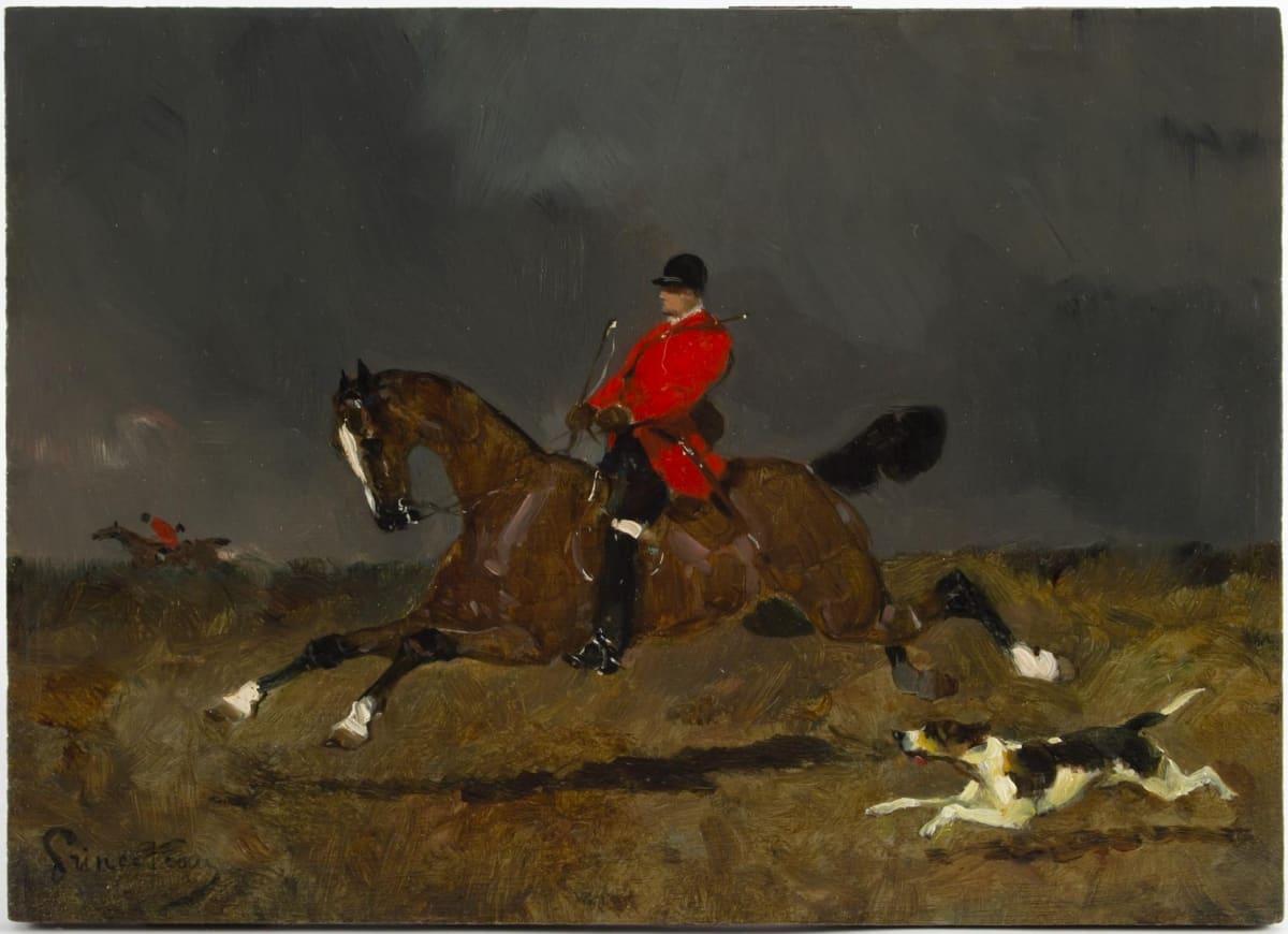 Le Marche Biron Rene Princeteau 1843 1914 Peintre Animalier Francais