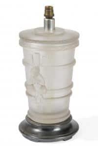 Marc Lalique (1900-1977) Pied de Lampe
