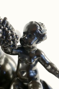 Faun with a young faun and a putto.
