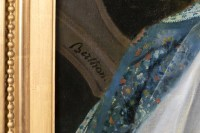 Portrait de Valentine Julie de Contades  - R-T Berthon (1776-1849)