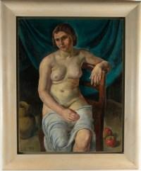 Luc HUEBER - Tableau La Femme de l'artiste