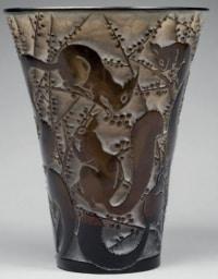 """René Lalique Vase """"Sénart"""""""
