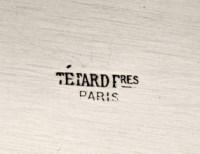 TETARD FRERES ORFEVRE - JARDINIERE ARGENT MASSIF EPOQUE 1930