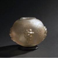 """René Lalique :Veilleuse brûle-parfum électrique """"Raisins"""""""