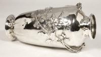 Vase en argent par A.AUCOC époque ART NOUVEAU